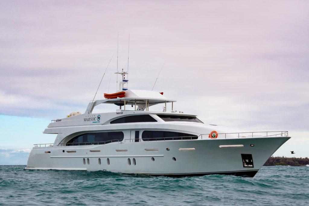 grand majestic luxury yacht galapagos