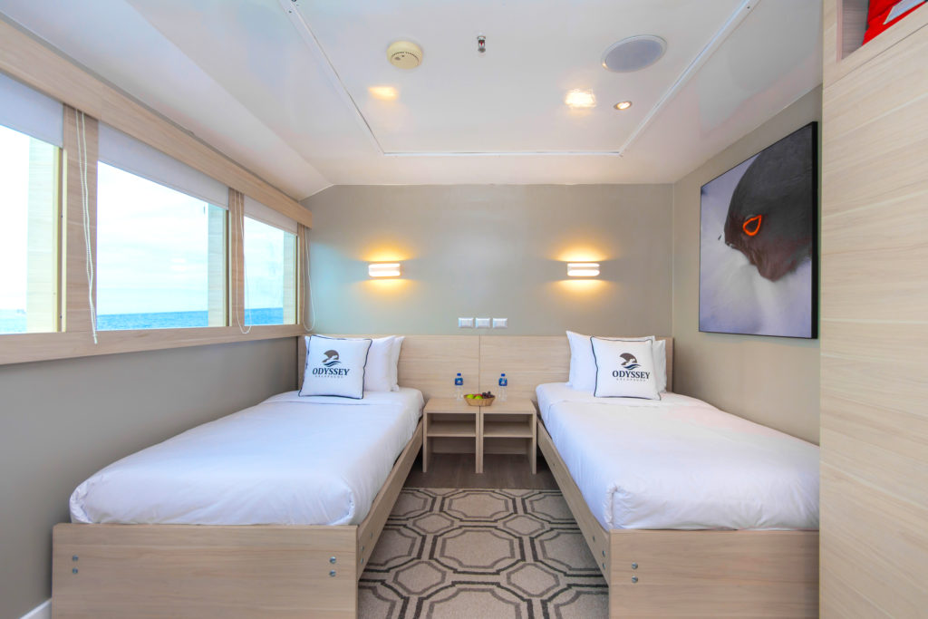 Odyssey Main deck twin cabin