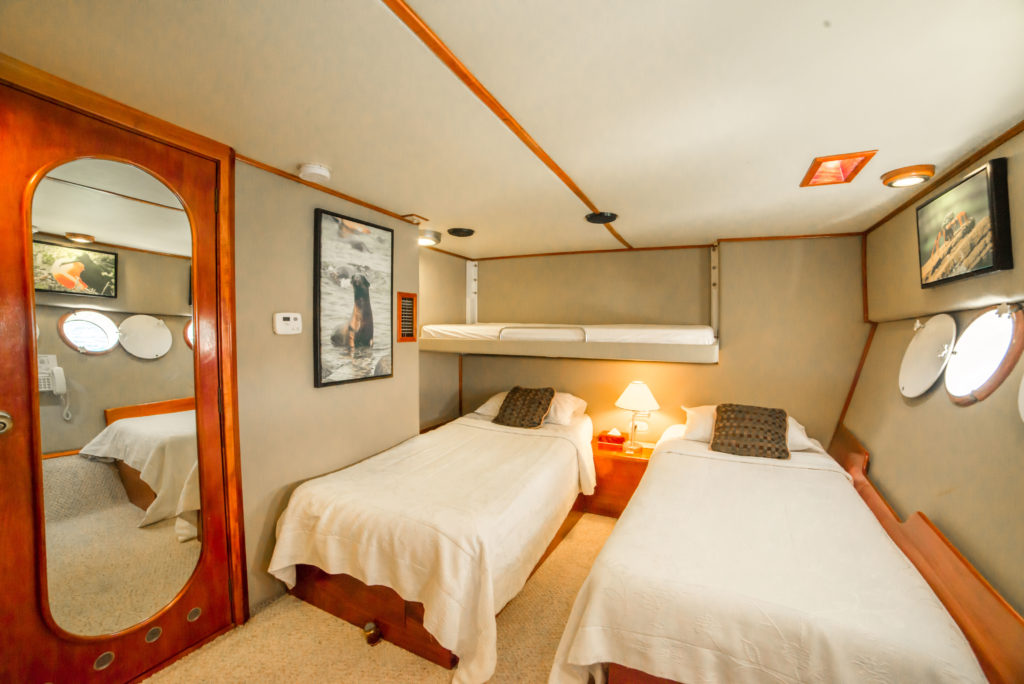Reina Silvia Lower deck triple cabin