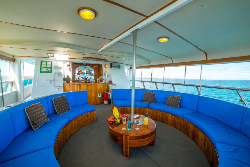 Reina Silvia Upper deck lounge
