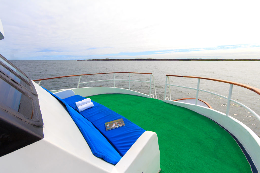 Upper deck – front sitting area