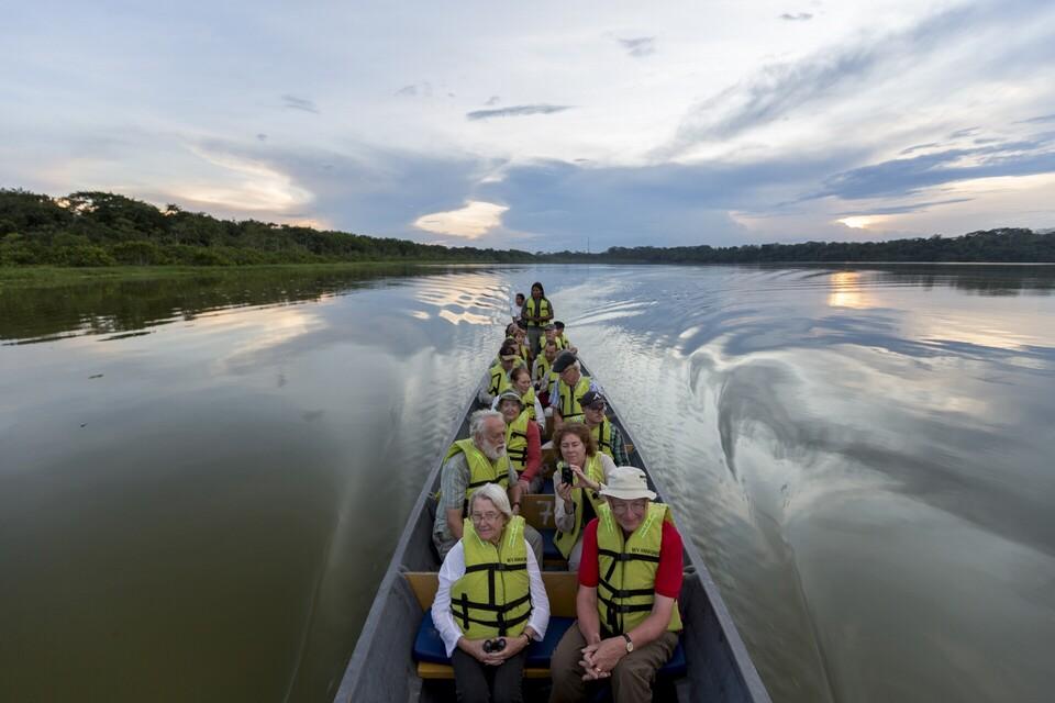 Blackwater lake canoeing Anakonda