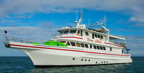 Last Minute Deals on the First Class Galapagos Yacht - Reina Silvia
