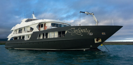 Last Minute Deals on the Luxury Infinity yacht in the Galapagos Islands