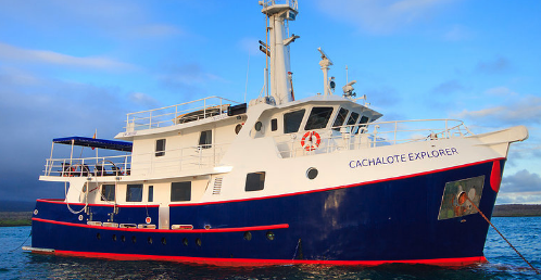 Galapagos First Class yacht Cachalote Explorer Last Minute Deals 2020