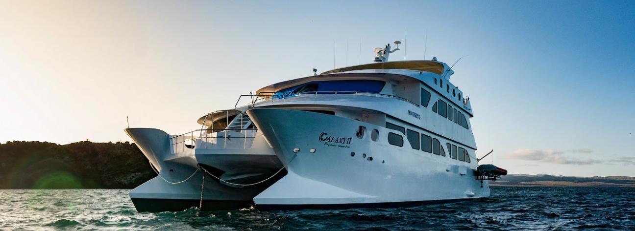 Eco Galaxy II First Class Galapagos Catamaran