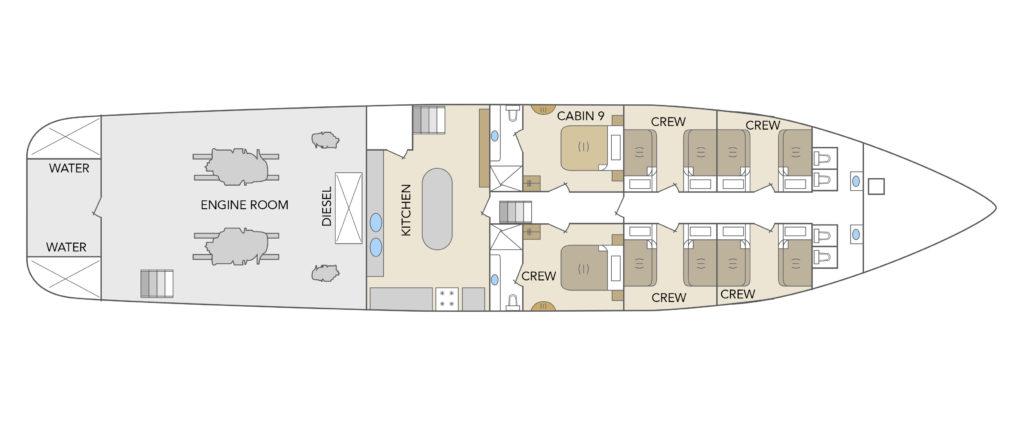 Odyssey Lower Deck