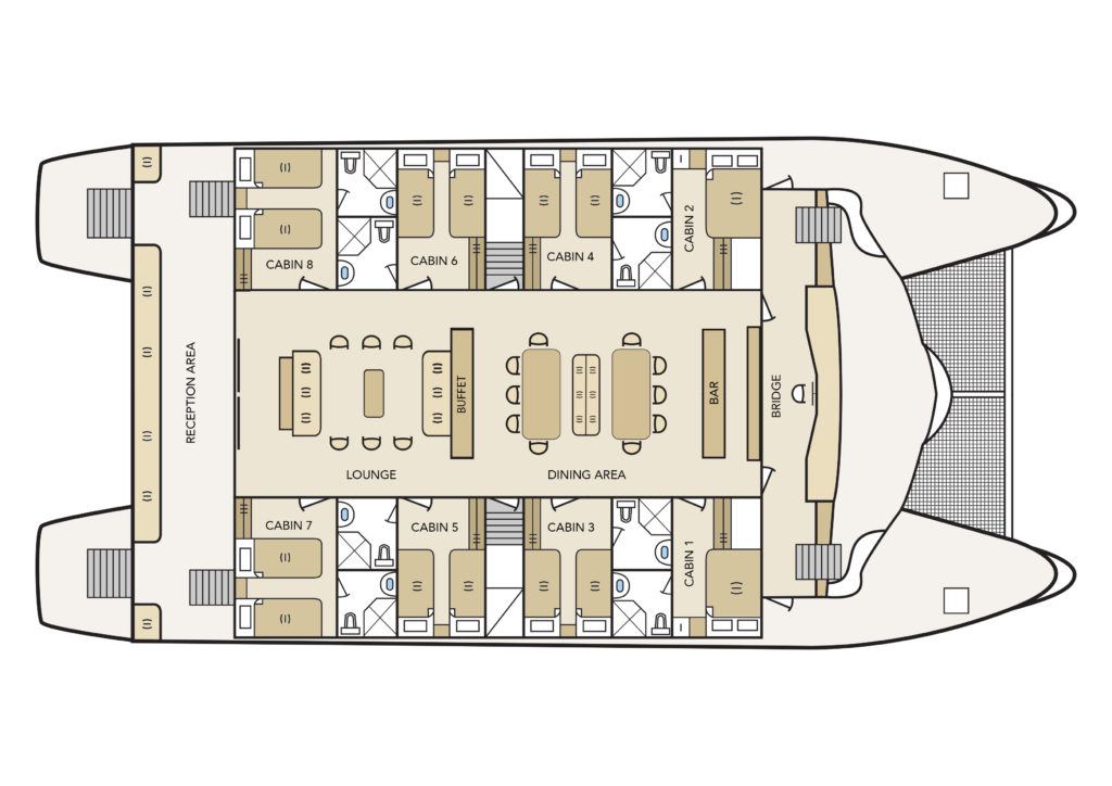 Main Deck Mid-Range Archipel I
