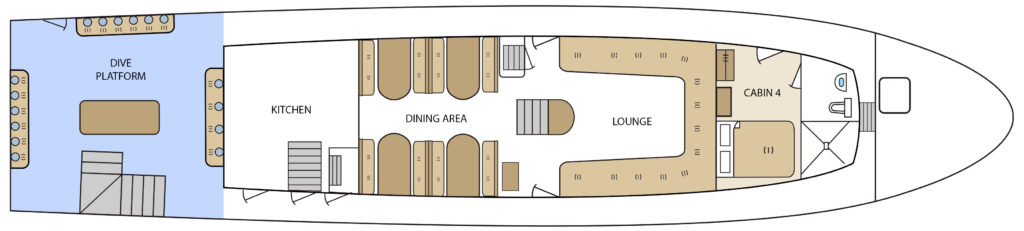 Aqua Main Deck Plan