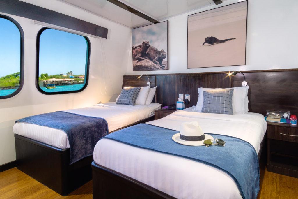 Natural Paradise Main deck - stateroom