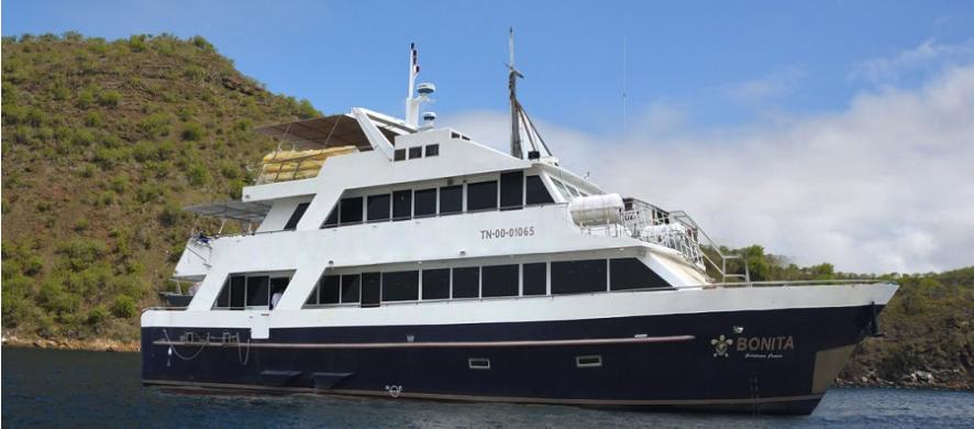 Bonita Yacht - Tourist Superior Galapagos Cruise at its finest