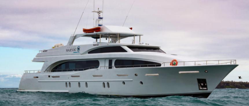 Grand Majestic Luxury Galapagos Yacht