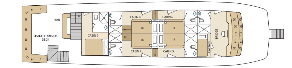 Aqua Upper Deck Plan